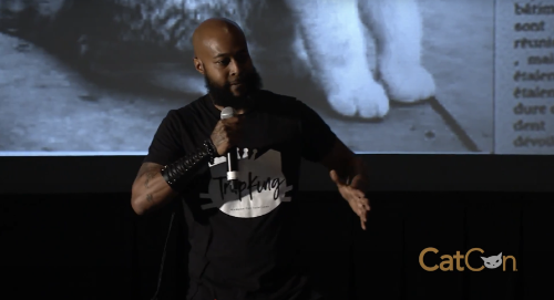 trapking speaking at catcon